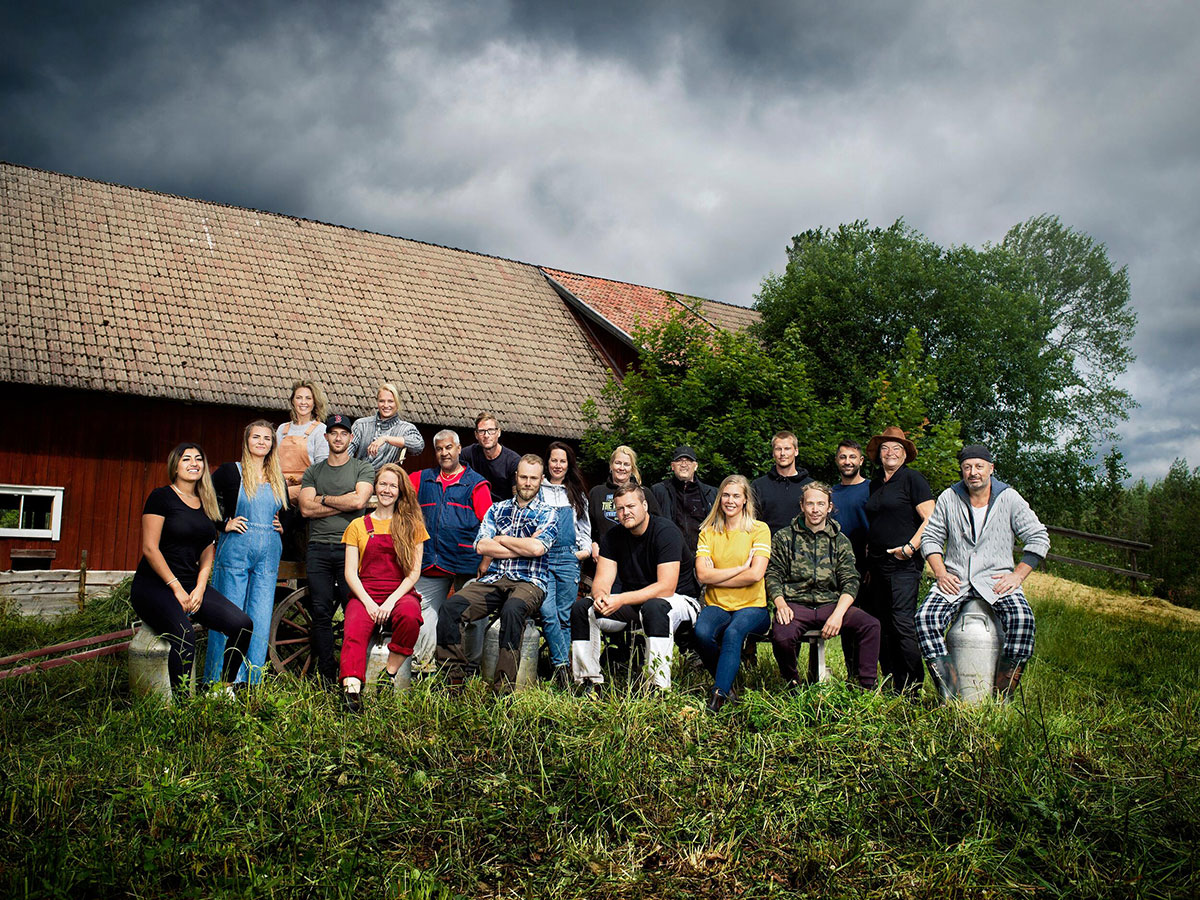 Farmendeltagare 2020 © Daniel Ohlsson/TV4