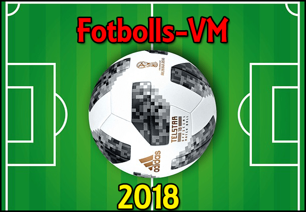 Fotbolls-VM 2018 © tvprogram.se
