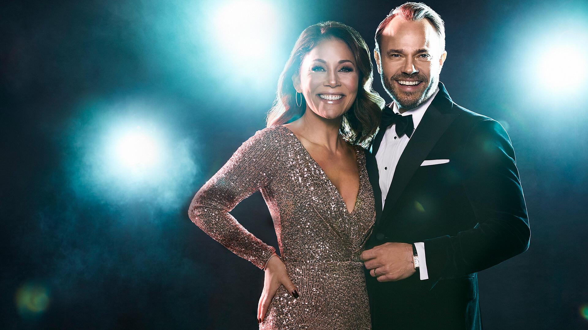 Programledare. Let's Dance 2020 © TV4/C More
